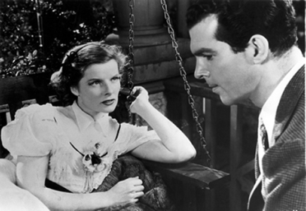 Image result for macmurray and hepburn in alice adams