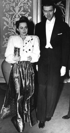 Image result for OLIVIA DE HAVILLAND & JIMMY STEWART