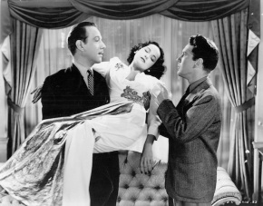 That Uncertain Feeling (1941) Directed by Ernst Lubitsch Shown from left: Melvyn Douglas, Merle Oberon, Burgess Meredith