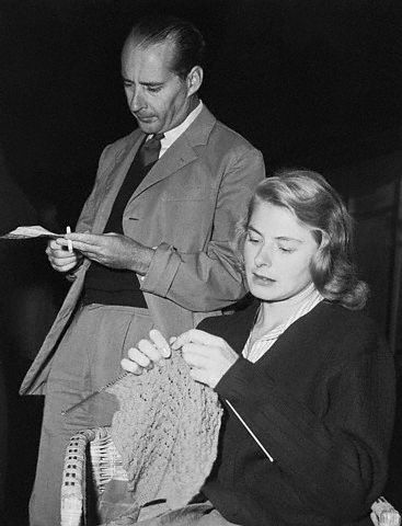 knitting-bergman-rossellini-afterdivorceannouncement